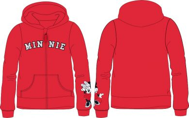 Disney Minnie Mouse Kapuzen Sweatjacke