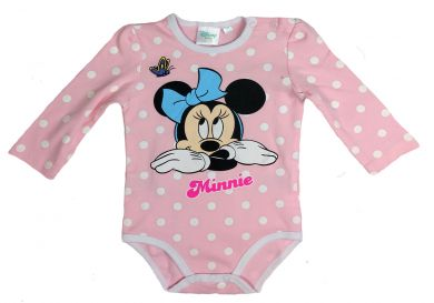 Disney Minnie Mouse Langarm Body