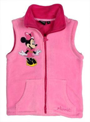Disney Minnie Mouse Fleece Weste rosa