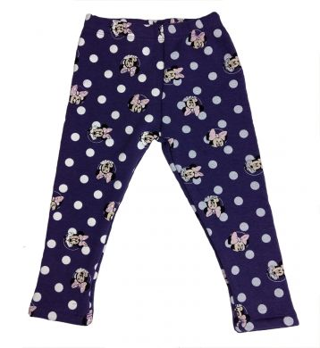 Disney Minnie Mouse Thermo-Legging violett
