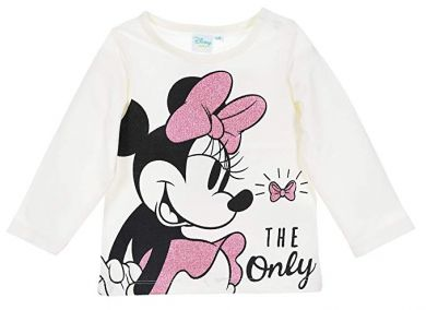 Disney Minnie Mouse Langarm-Shirt ivory