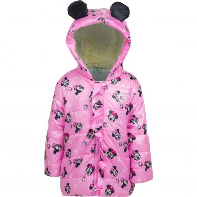 Disney Minnie Mouse Winterjacke rosa