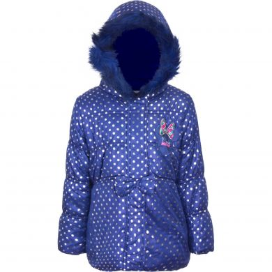 Disney Minnie Mouse Winterjacke blau