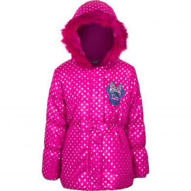 Disney Minnie Mouse Winterjacke pink