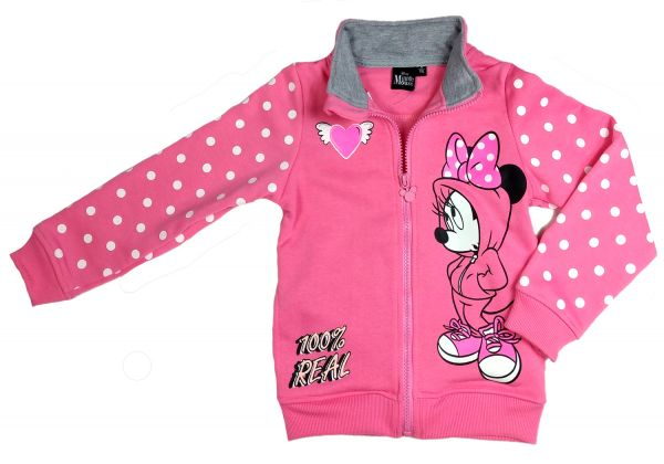 Disney Minnie Mouse Sweat-Jacke rosa