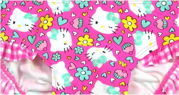 Bikini Hello Kitty UV 50+ Gr. 98,104,110